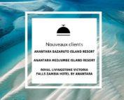 Nouveaux clients Anantara
